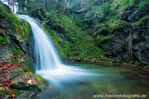 Wasserfall beim Duftbräu